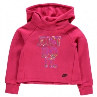 Hanorac Nike Crop pentru fete pentru Bebelusi