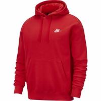 Hanorac Nike NSW Club rosu BV2654 657 pentru barbati
