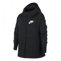 Hanorace cu Fermoar Nike NSW pentru fetite