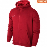 Hanorac cu gluga Nike Team Club rosu 658499 657 copii
