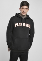 Hanorac Play Hard negru Mister Tee