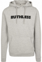 Hanorac Ruthless Embroidery deschis-gri Merchcode