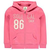 Hanorac SoulCal cu fermoar pentru fetite