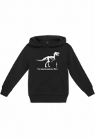 Hanorac T-Rex pentru Copii negru Mister Tee