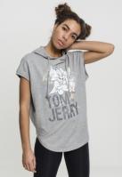 Hanorac Tom & Jerry fara maneci pentru Femei gri Merchcode
