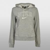 Hanorac cu gluga Nike W Nsw Hoodie Vrsty AR3722-063 Femei