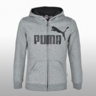 Hanorace Puma Ess Logo Hooded Jacket Baietei