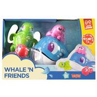 Happy Kid Whale N Friends Bath Toys