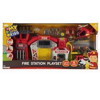 Happyline Fire Station Playset