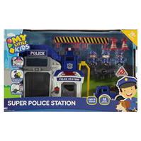 Happyline My Little Super Police Station Playset pentru Copii