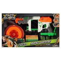 Happyline Fast Shots Rapid Gamma Foam Dart Gun