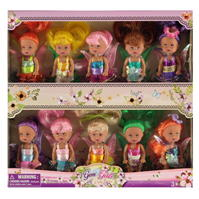 Harbour Dolls Gem Little Fairies Mini 10pk pentru fete