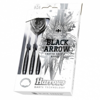 Sageti darts Harrows Softip negru ARROW 18g copii