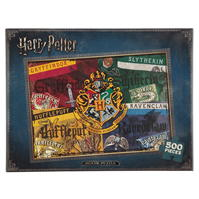 Harry Potter Harry Potter Hogwarts Houses Puzzle