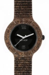 Hip Hop - Vintage Brownblack Dial Pelleleather
