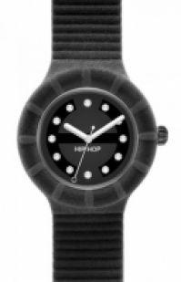 Hip Hop - Velvet negru Swarovsky 40 Mm