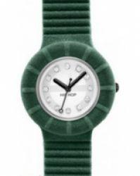 Hip Hop - catifea verde Swarovski