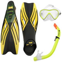 Set Hot Tuna Juniors Mask Snorkle Fin