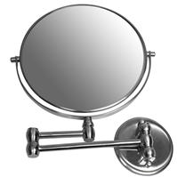 Hotel Collection Brushed Chrome Extending Mirror