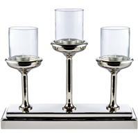 Hotel Collection Glass top candleholder centrepiece