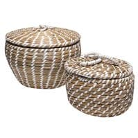 Hotel Collection Hotel Rattan Box 2pck00
