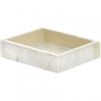 Hotel Collection Mother of pearl soap dish