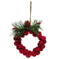 House of Fraser Bell Wreath Orn 84