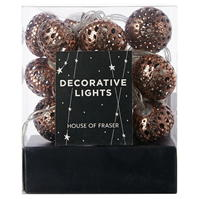 House of Fraser House Moroccan Ball Lights