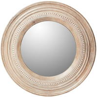 House of Fraser Analise round wood mirror
