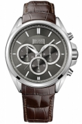 Hugo Boss Watches Mod Driver Chrono din piele Strap 44mm