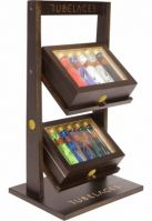 Humidor Counter Display negru Tubelaces