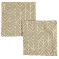 Huse perna Set 2 Linens and Lace And Lace Botan Leaf