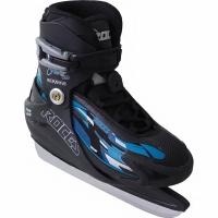 Ice Hockey Rink Roces Fuzzy 30 negru albastru 450652 02 baiat