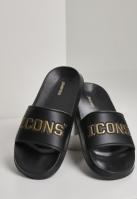 Icons Slides negru-auriu Schlappos