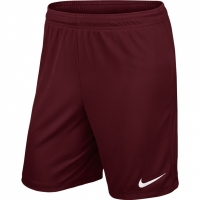 Sort Nike PARK II tricot SHORT NB bordo / 725887 677 barbati