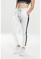 Pantaloni sport Interlock pentru Femei alb-negru Urban Classics