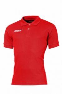 Tricou polo rosu Irlanda Rosso Max Sport pentru timp liber