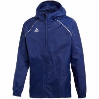 Jacheta adidas Core 18 ploaie bleumarin CV3742 copii teamwear adidas teamwear