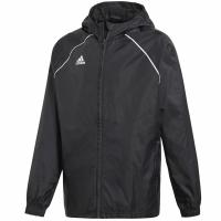 Jacheta adidas Core 18 ploaie negru CE9047 copii teamwear adidas teamwear