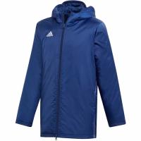 Jacheta Adidas Core 18 Stadium bleumarin DW9198 copii pentru copii