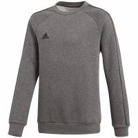 Bluza de trening adidas Core 18 gri CV3969 copii teamwear adidas teamwear