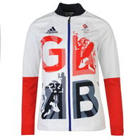 Jacheta adidas Team GB Podium pentru Femei