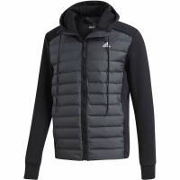 Jacheta Adidas Varilite Hybrid barbati negru CY8723