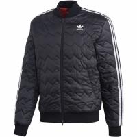 Jacheta barbati Adidas SST Quilted negru DH5008