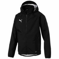 Jacheta barbati Puma Liga antrenament ploaie negru 655659 03