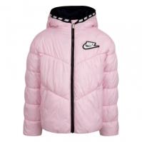 Jacheta captuseala pene gasca Nike pentru fete pentru Bebelusi roz foam
