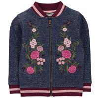 Jacheta Crafted Embroidered Bomber Child pentru fete