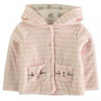 Jacheta Crafted Essentials Velour pentru Bebelusi
