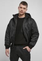 Jacheta cu gluga MA1 Bomber negru Brandit