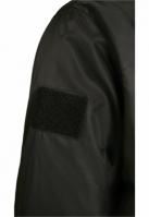 Jacheta cu gluga MA1 Bomber negru-gri Brandit